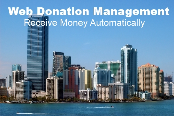 Bizness Inc Web Donation Management